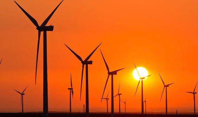 Zelená energie vládne evropským burzám (ilustrační foto).