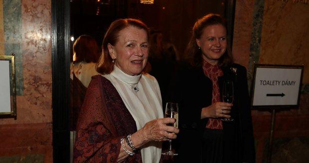 Febiofest: Iva Janžurová with her daughter Theodora