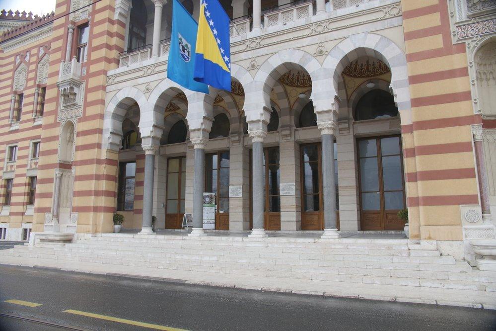 Bývala sarajevská radnice