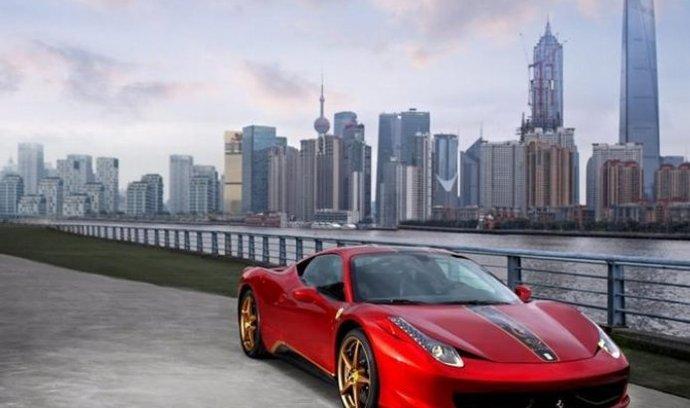 Ferrari 458 Italia ve speciální edici pro čínské zákazníky