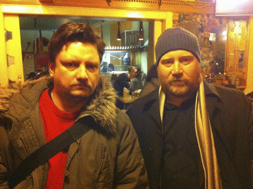 Filip Homola a letos zesnulý islandský skladatel filmové hudby Jóhann Jóhannsson