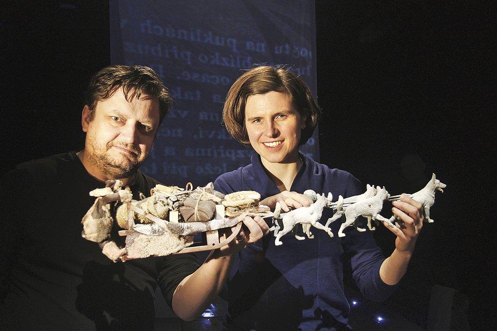Filip Homola a spisovatelka Judith Schalansky