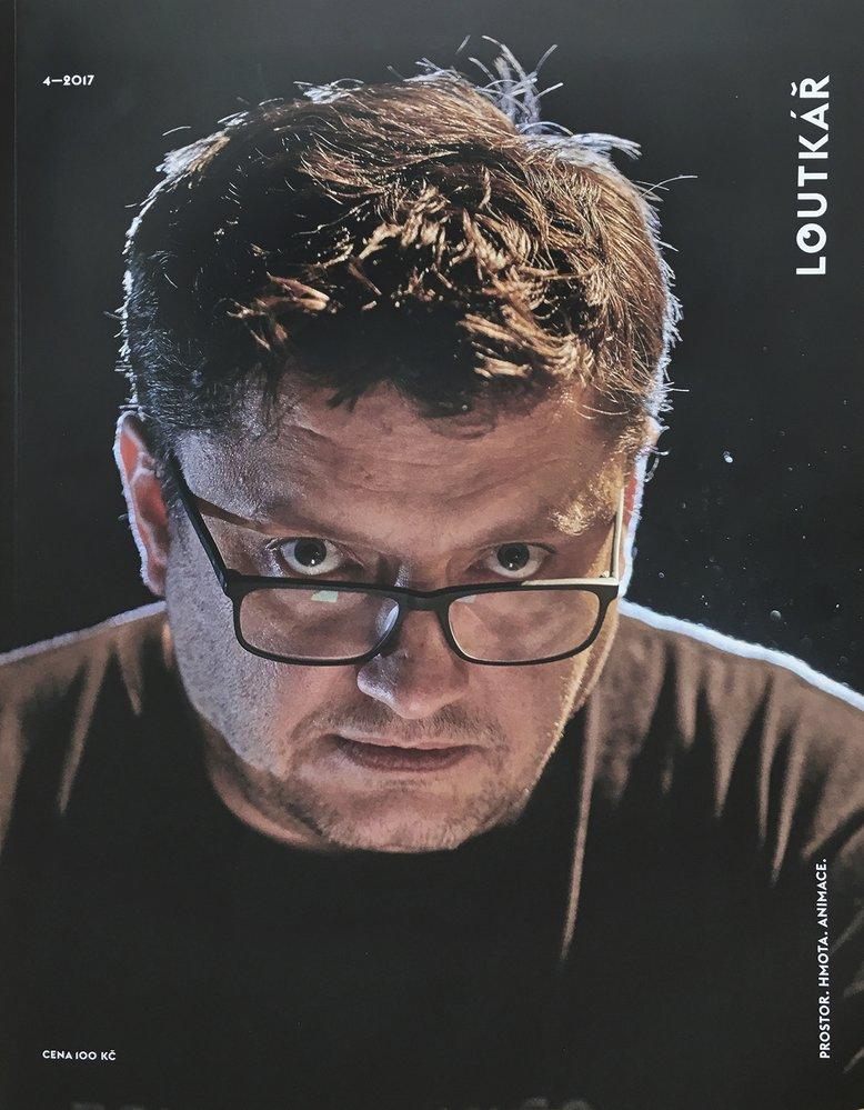 Filip Homola se na konci roku 2017 dostal i na titulní stranu časopisu Loutkář