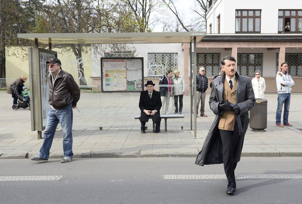 V Praze začalo natáčení filmu o Lídě Baarové