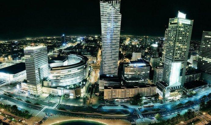 Finanční čtvrť Varšavy