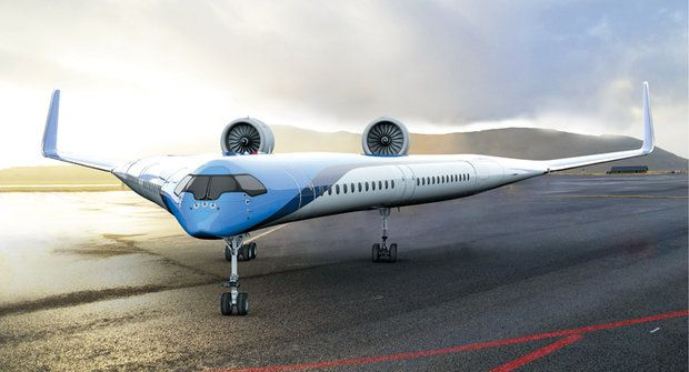 Letadlo budoucnosti: Cestující si vlezou do křídel