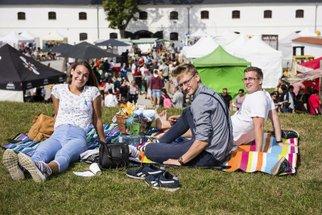 Chytrá vejce, klobásky i dorty: Tak vypadal F.O.O.D. piknik v Olomouci!