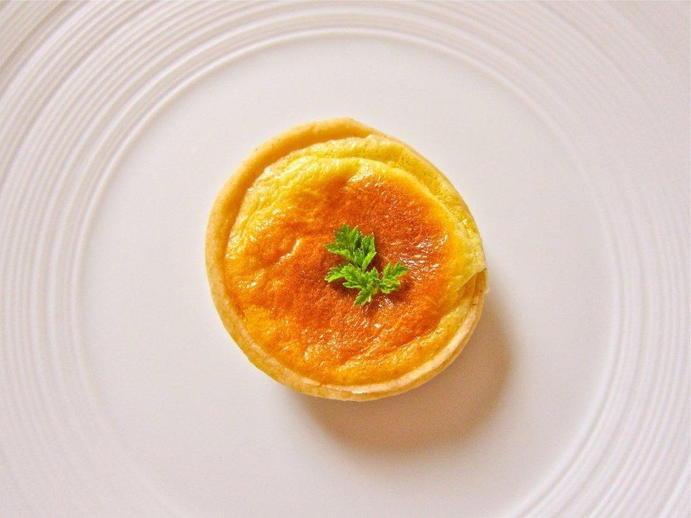 9. Quiche s houbami (sýrový koláč).