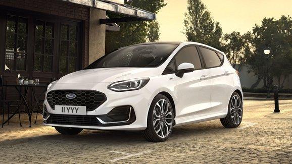 Modernizovaný Ford Fiesta míří do prodeje. S tříválcem 1.0 EcoBoost stojí od 349.900 Kč