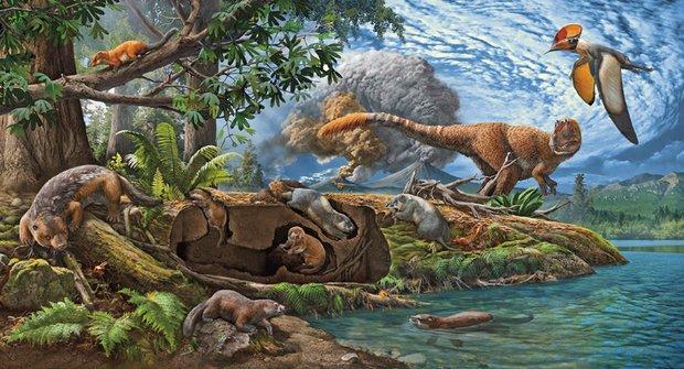 Předchůdci savců, kteří žili s dinosaury, byli objeveni v Číně