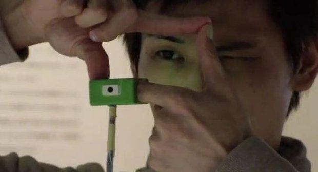 Budeme cvakat fotky mezi prsty? Prototyp už existuje