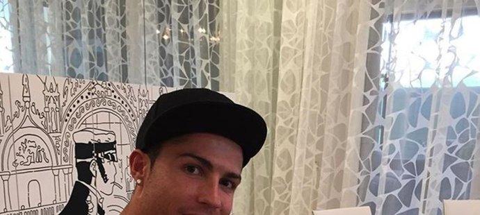 Cristiano Ronaldo na svoji stravu hodně dbá