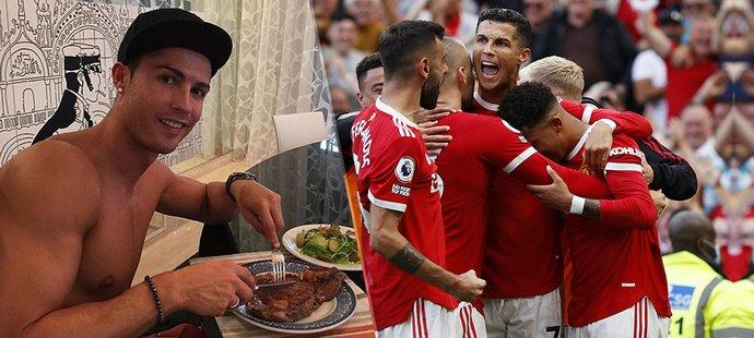 Cristiano Ronaldo ovlivnil jídelníček svých spoluhráčů v United