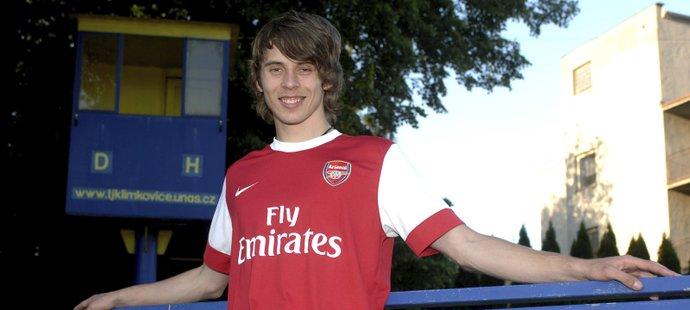 Jan Švábík nebyl daleko k angažmá v Arsenalu