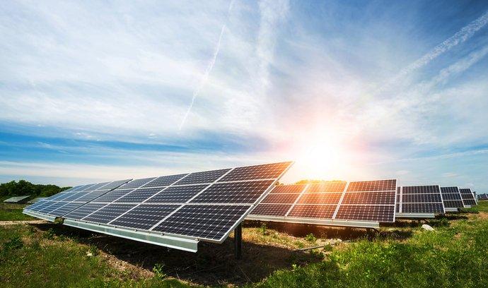 Solární elektrárny, ilustrační foto