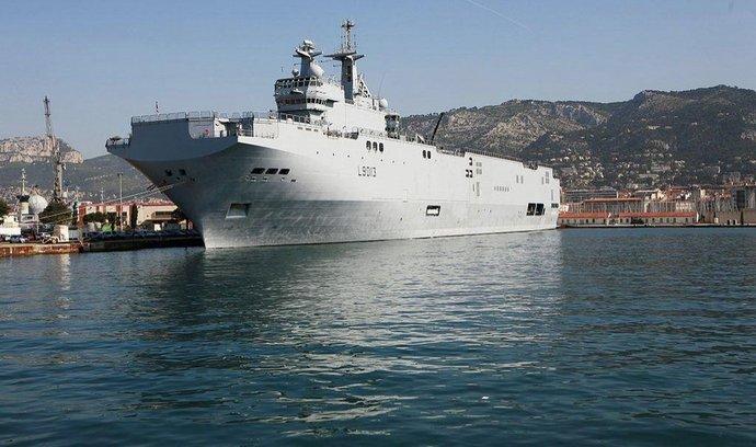 Francouzská válečká loď třídy Mistral