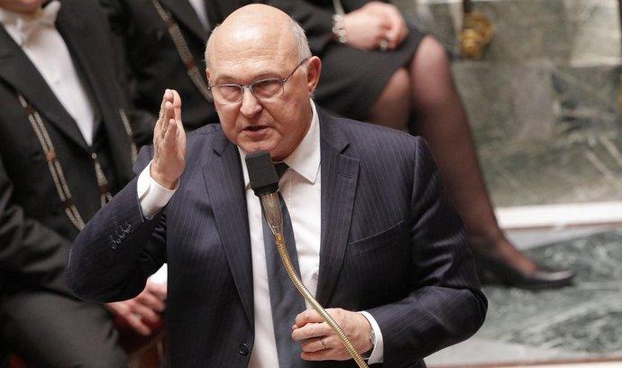 Francouzský ministr financí Michel Sapin