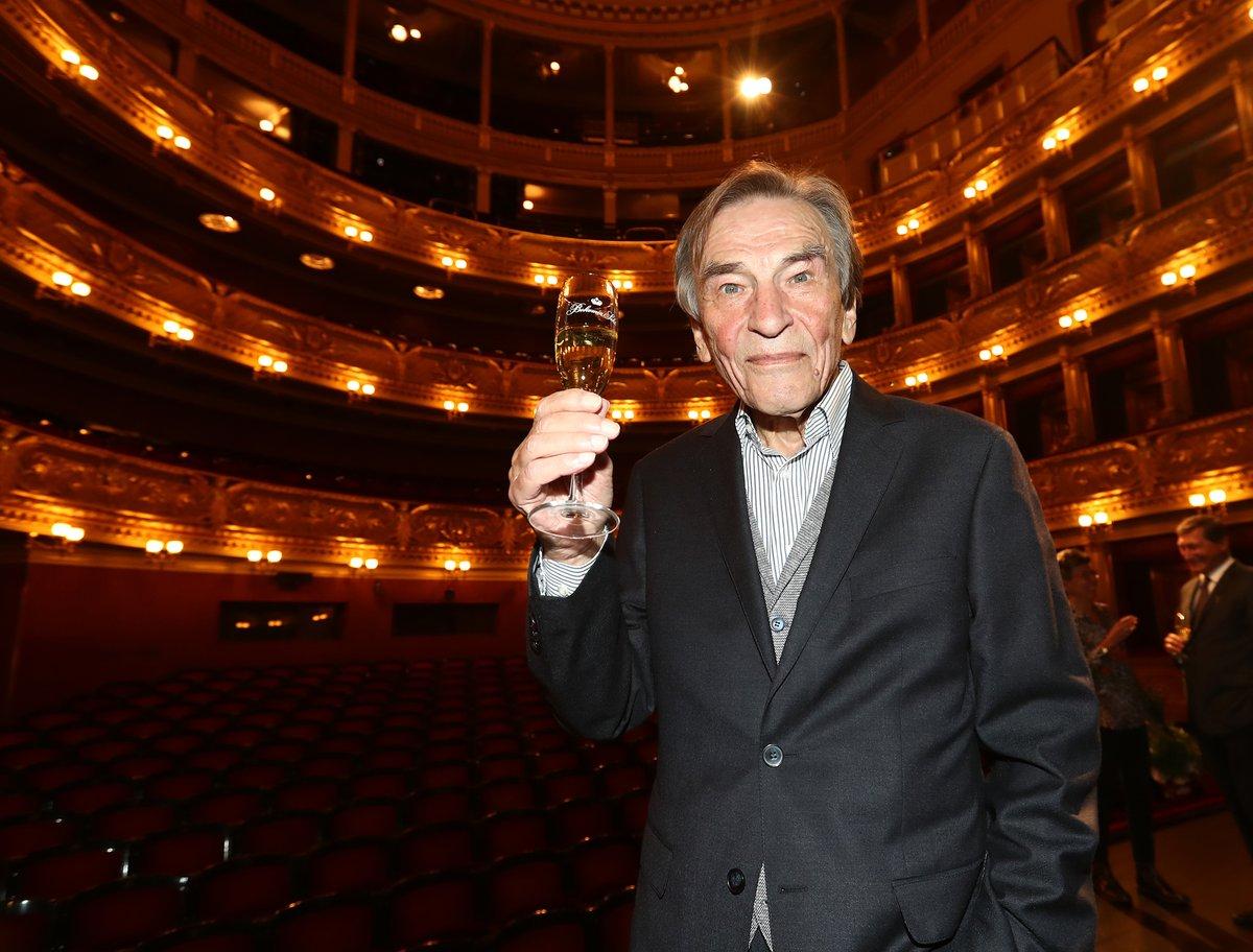 František Němec bude brzy v Národním divadle 40 let.