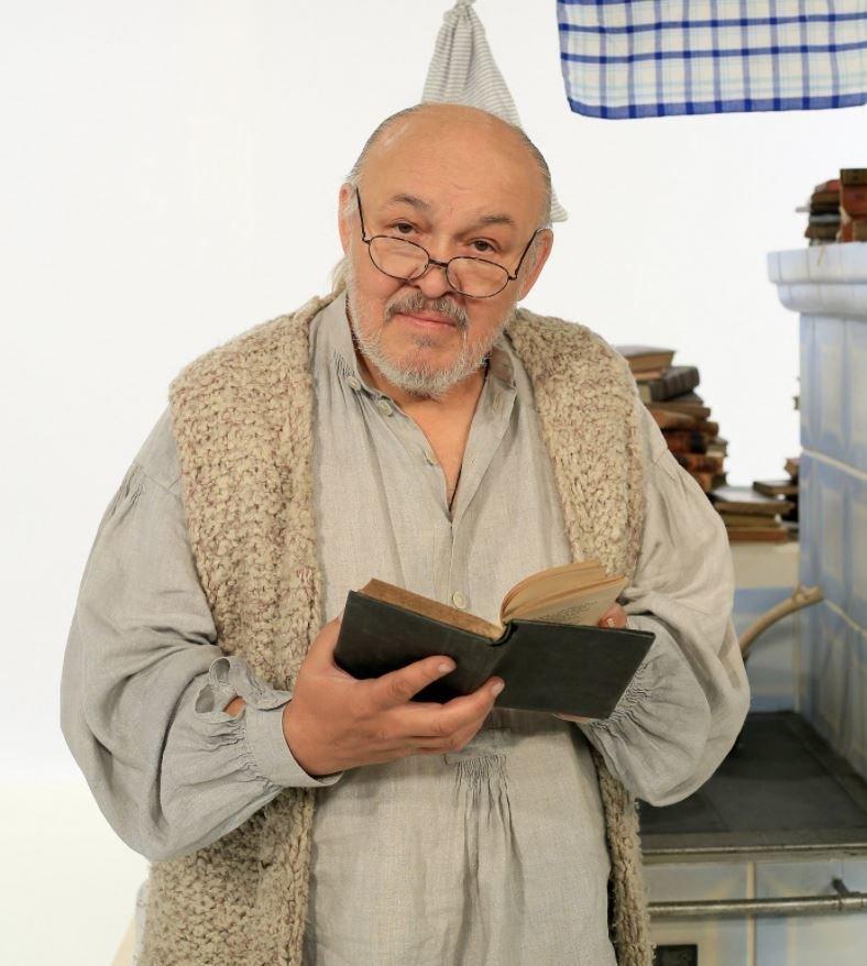 Pro Českou televizi načetl František Segrado pohádky z Valašska