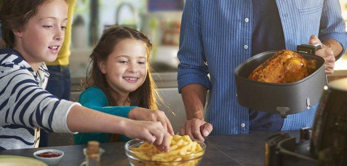 Vyprážajte zdravo a inšpirujte sa 3 receptmi pre teplovzdušné fritézy
