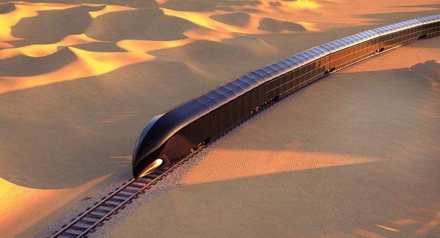Palác na kolejích: G-Train je vlak budoucnosti