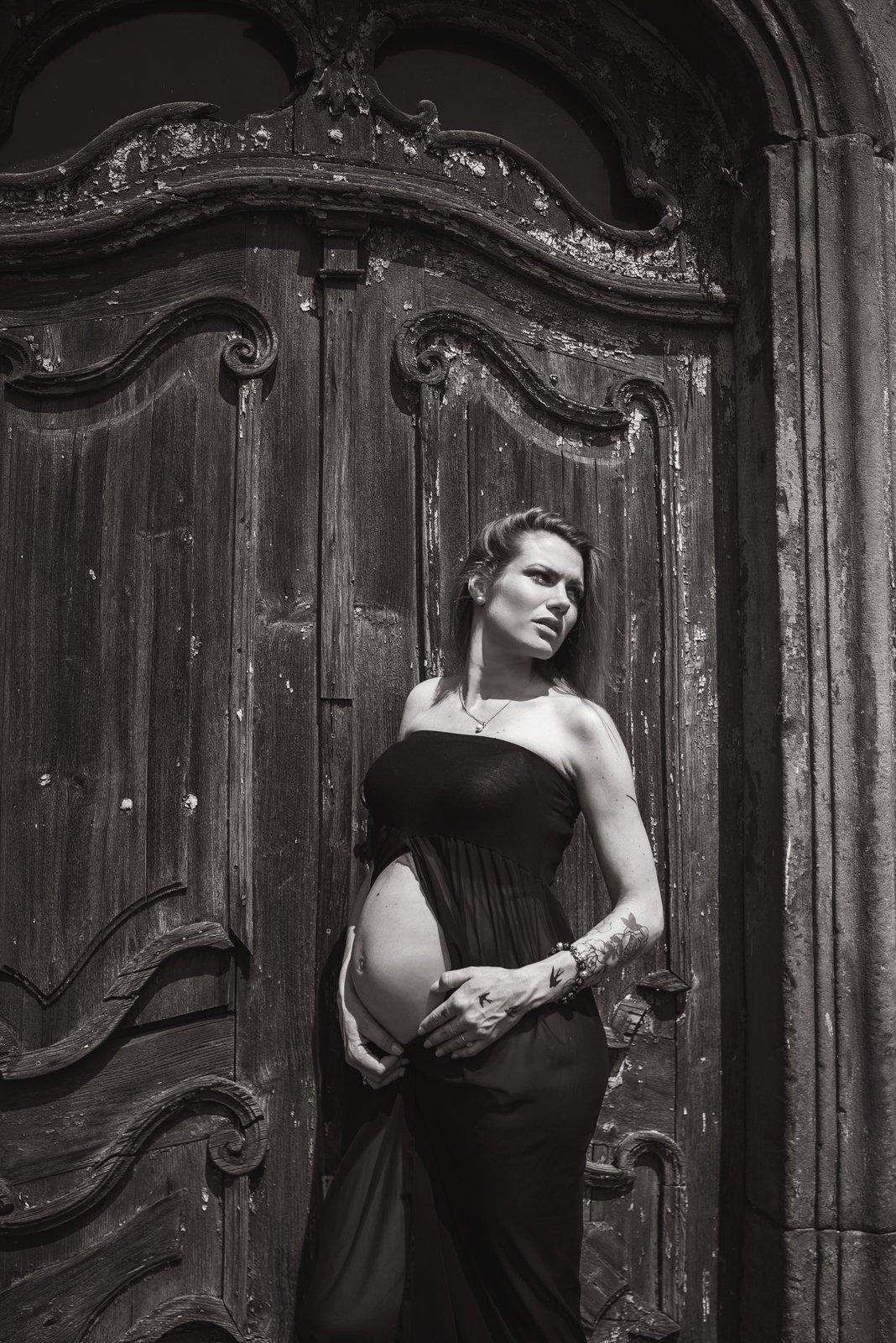 Gabriela Soukalová měsíc před porodem