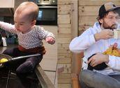 """GALERIE: Když hlídá táta! Z těchto fotek musí být každá máma """"na mrtvici"""""""