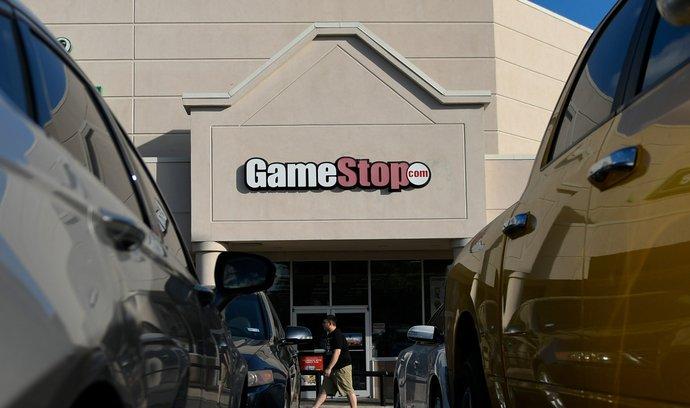 Prodejna řetězce GameStop