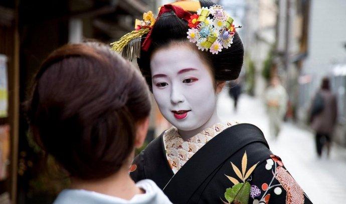 Gejši z Kjóta, nositelky japonské kultury a tradic