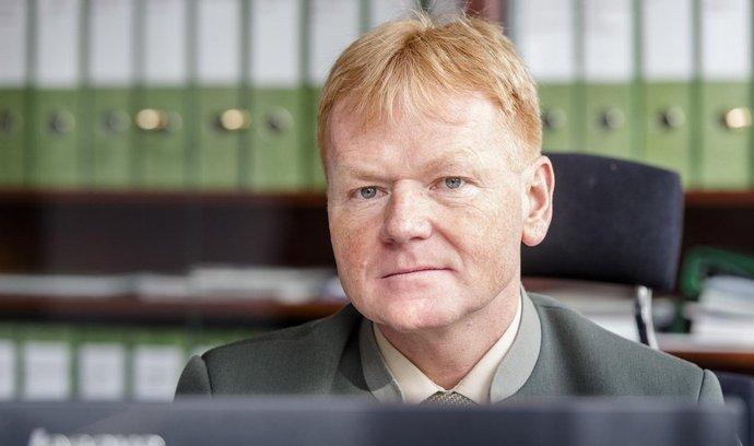 Generální ředitel státního podniku Lesy ČR Daniel Szórád