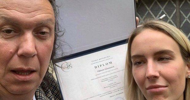 Richard Genzer s dcerou