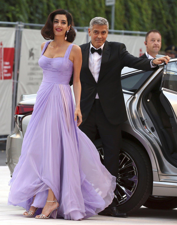 Amal vypadala skvěle!