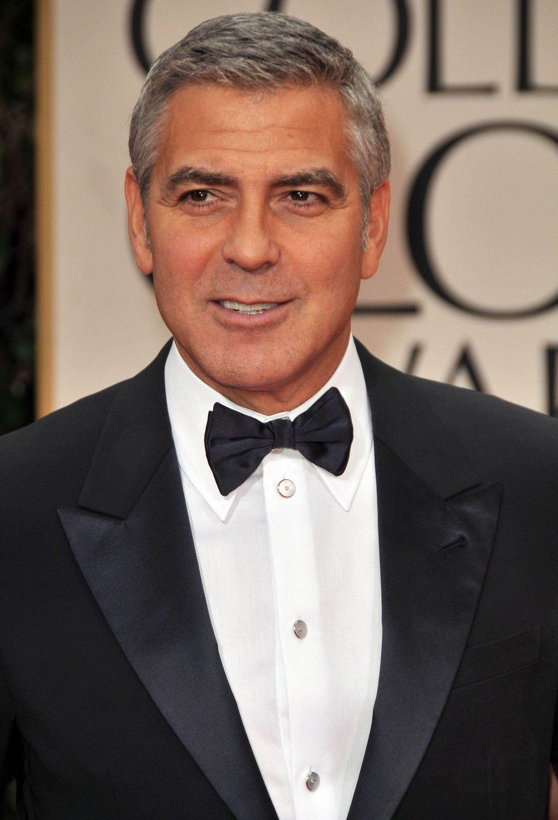George Clooney z ledna 2012.
