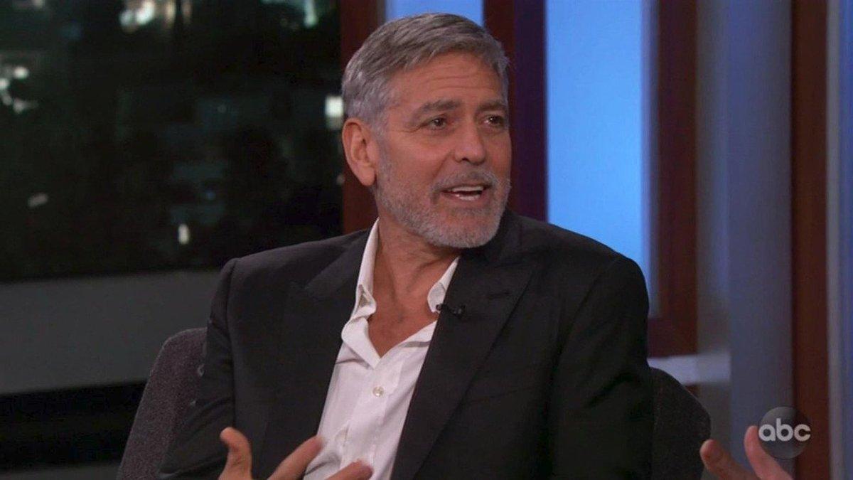 George Clooney v show Jimmyho Kimmela vtipkoval o tom, že mu Archie Windsor krade poroznost tím, že má narozeniny ve stejný den