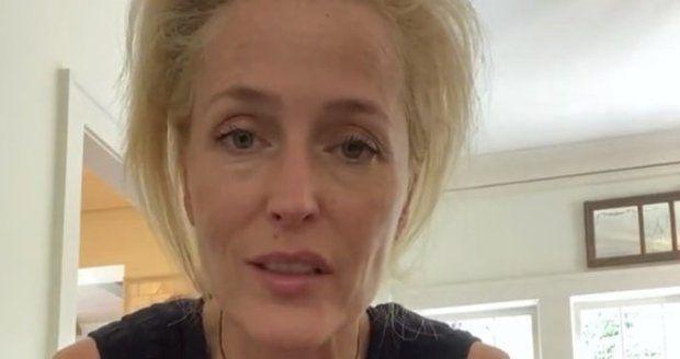 Fanynky Gillian fandí za odvážné rozhodnutí.