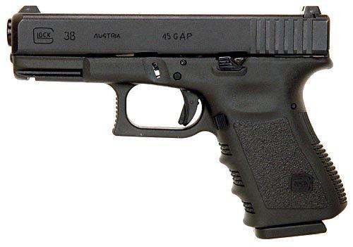 Glock 38 - Používá newyorská policie.
