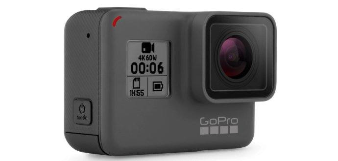 GoPro HERO6 Black: nový král sportovních kamer