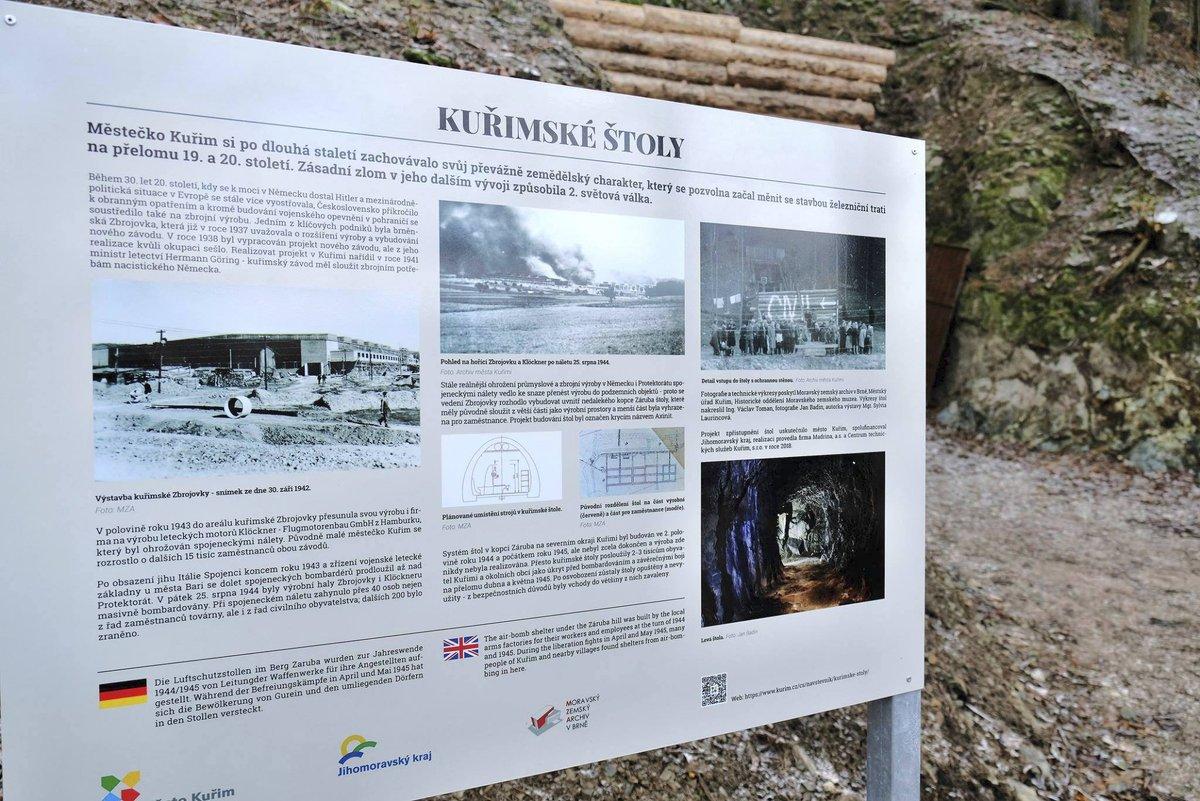 Informace pro návštěvníky.
