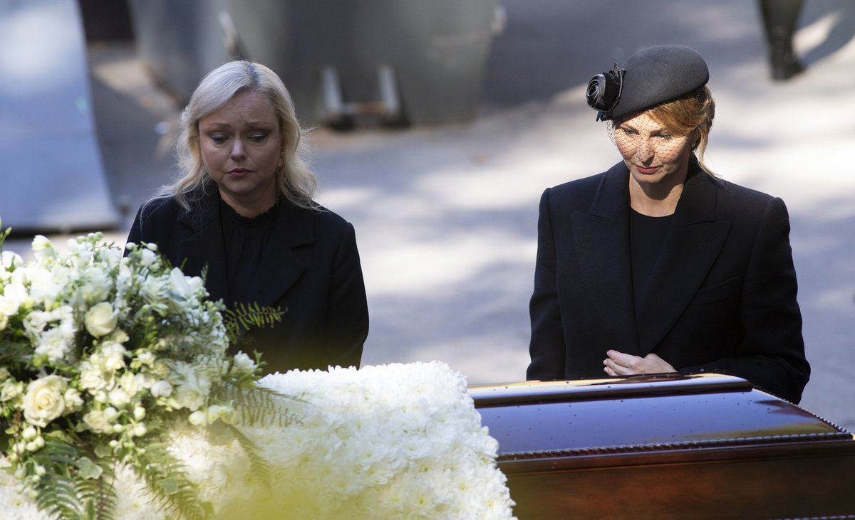 S Ivanou se naposledy viděly na tátově pohřbu.