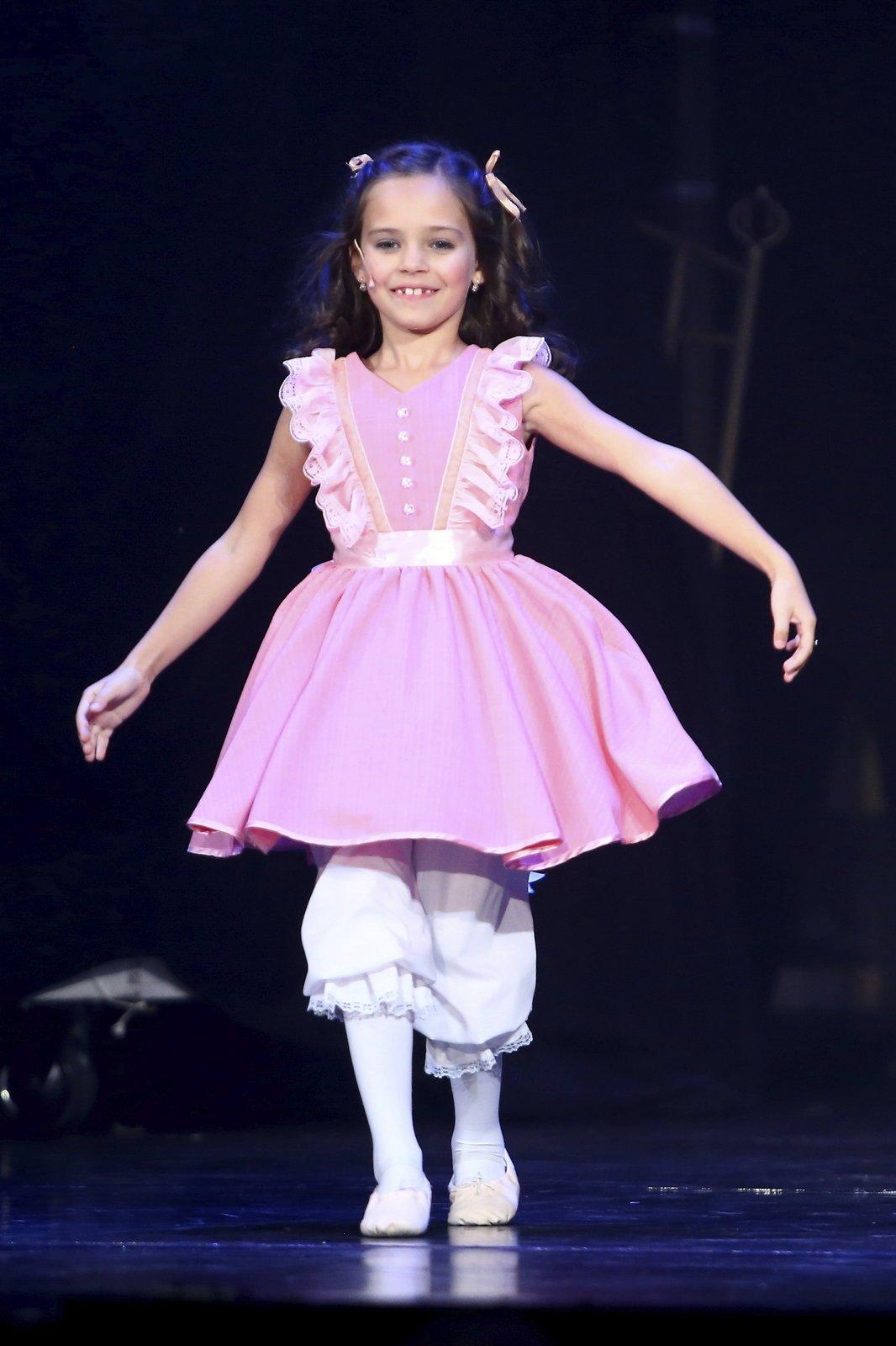 Charlotta Ella Gottová v 8 letech.