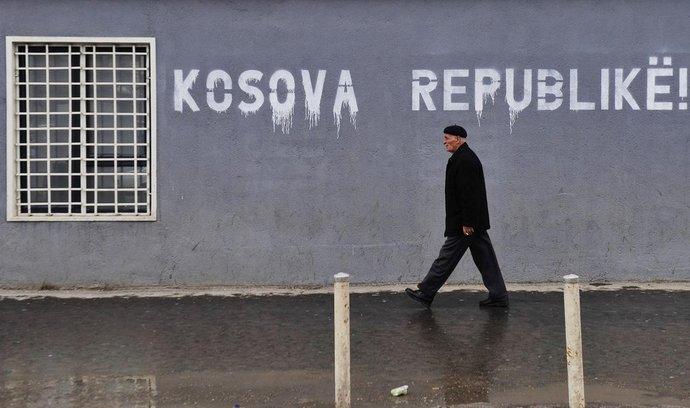 Grafitti v kosovské Prištině