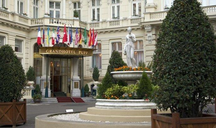 Grandhotel Pupp v Karlových Varech, ilustrační foto