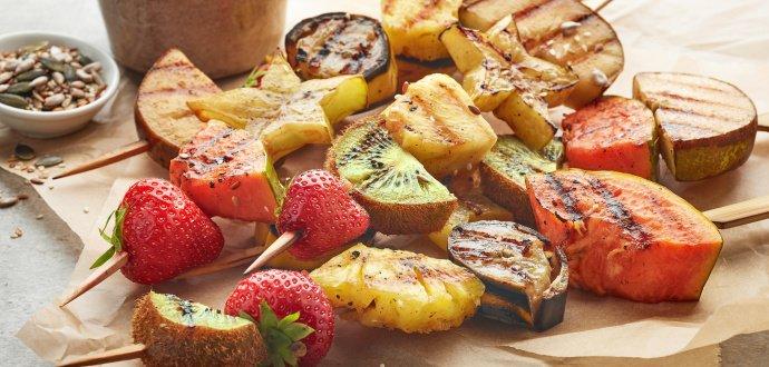 Grilování nasladko: zkuste místo masa teplé ovoce