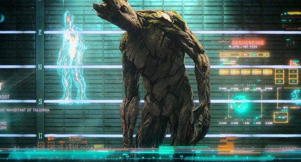 """""""Co je to za blbečky?!!"""" Upoutávka na vesmírné Avengers Strážce galaxie"""