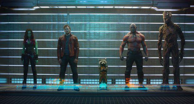 Strážci galaxie: První oficiální fotka vesmírných Avengers