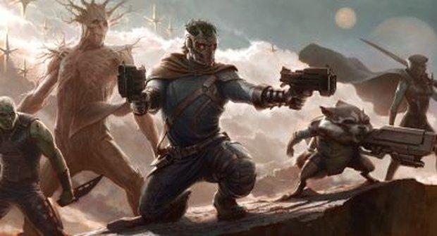 """""""Vesmírní Avengers"""": To jsou Guardians of Galaxy"""
