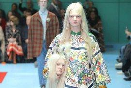 Šok na módní přehlídce: Uříznuté hlavy, draci či třetí oko manekýnek