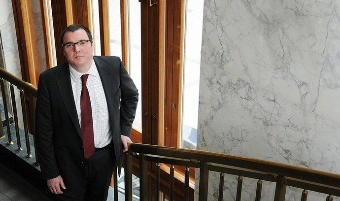 Guvernér České národní banky Miroslav Singer