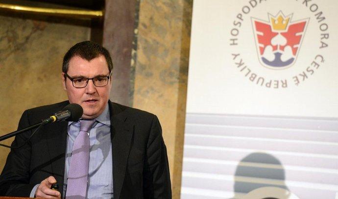 Guvernér ČNB Miroslav Singer,