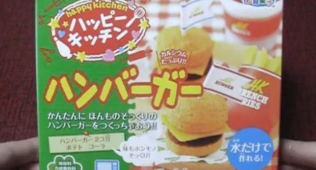 Fuj!!! Japonci mají hamburger v prášku